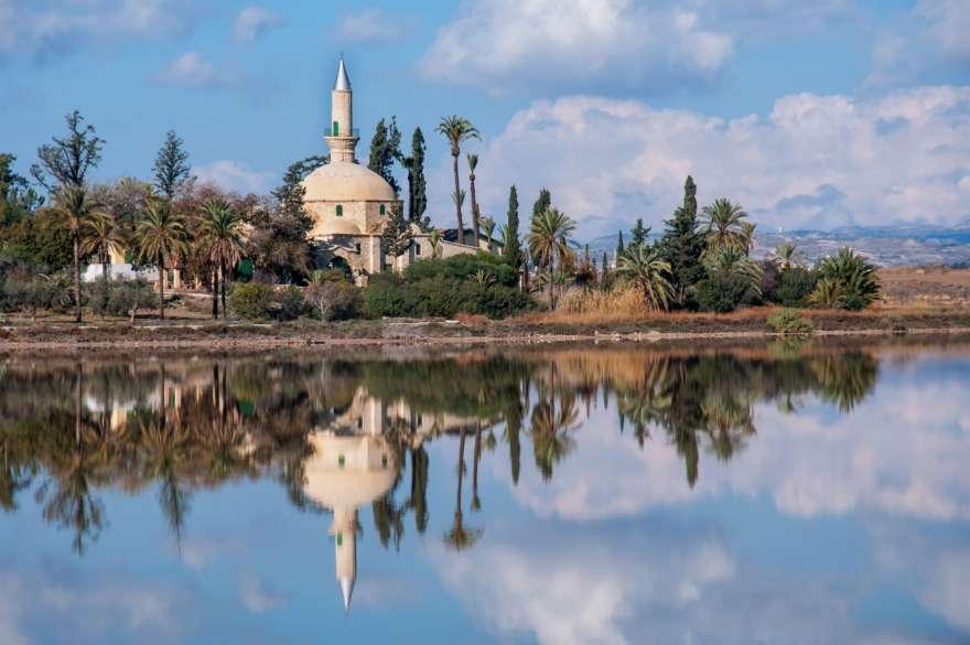 Hala Sultan Tekke Moschee auf Zypern
