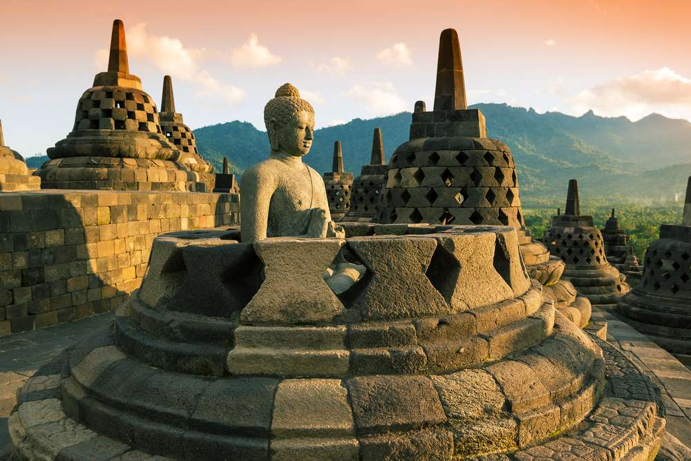 Tempel auf Java