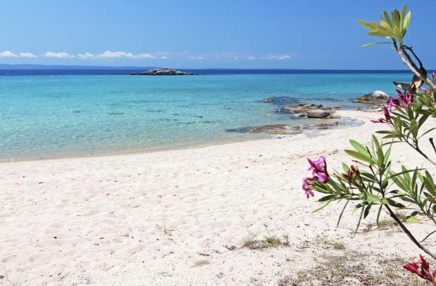 Kalogria Beach in Griechenland
