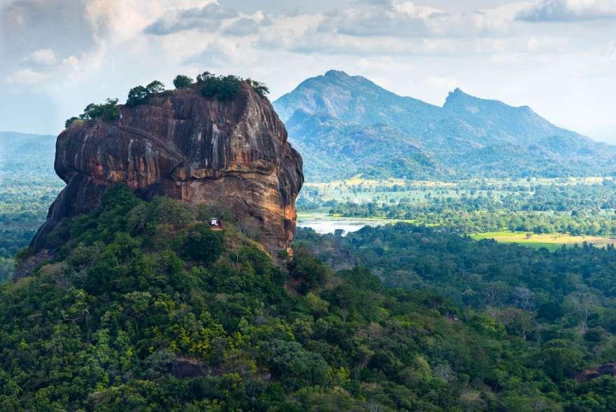 Löwenfels auf Sri Lanka