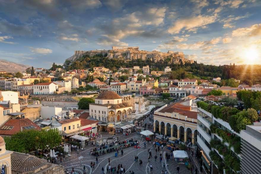 Plaka in Athen