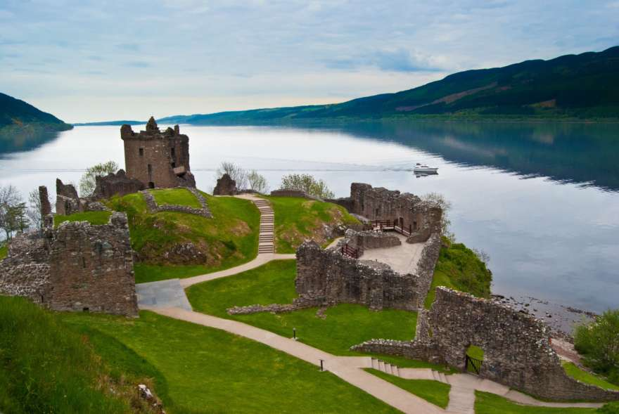 Schottland Loch Ness