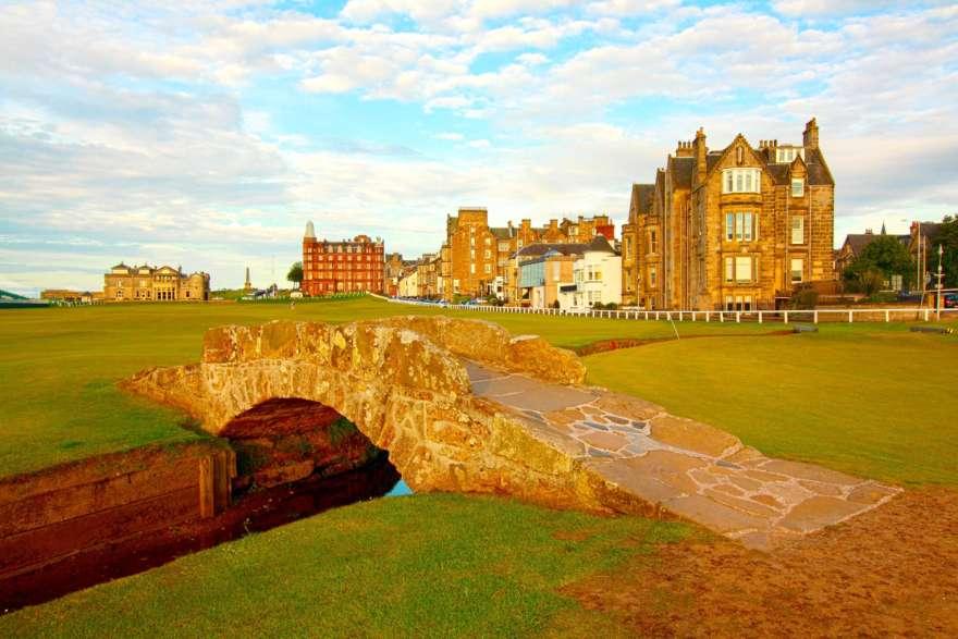 Schottland St Andrews Golfcourse