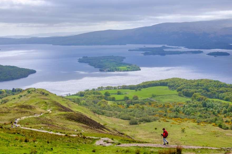 Schottland Wandern Loch Lomond