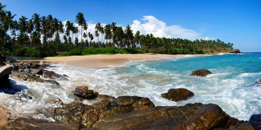 Strand in Tangalle auf Sri Lanka