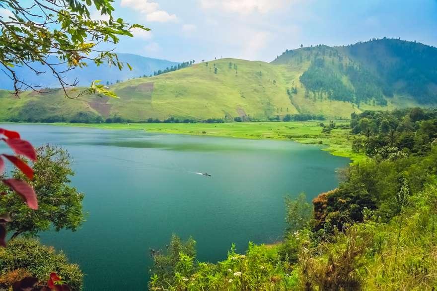 Toba See auf Sumatra