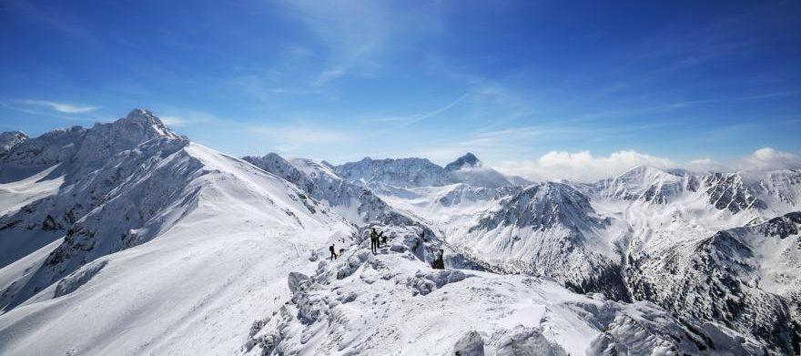 Winter in der Hohen Tatra in Polen