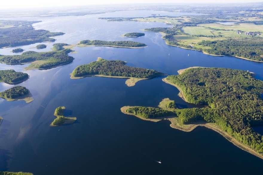 Masuren Kisajno Lake