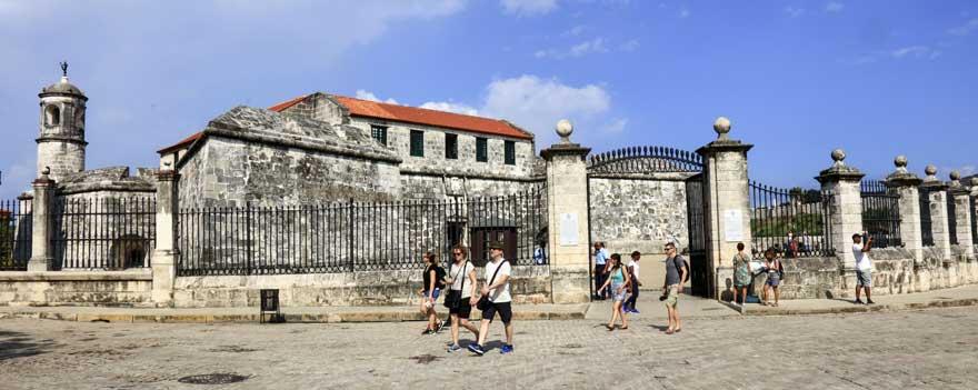 Castillo de la real fuerza in Havanna