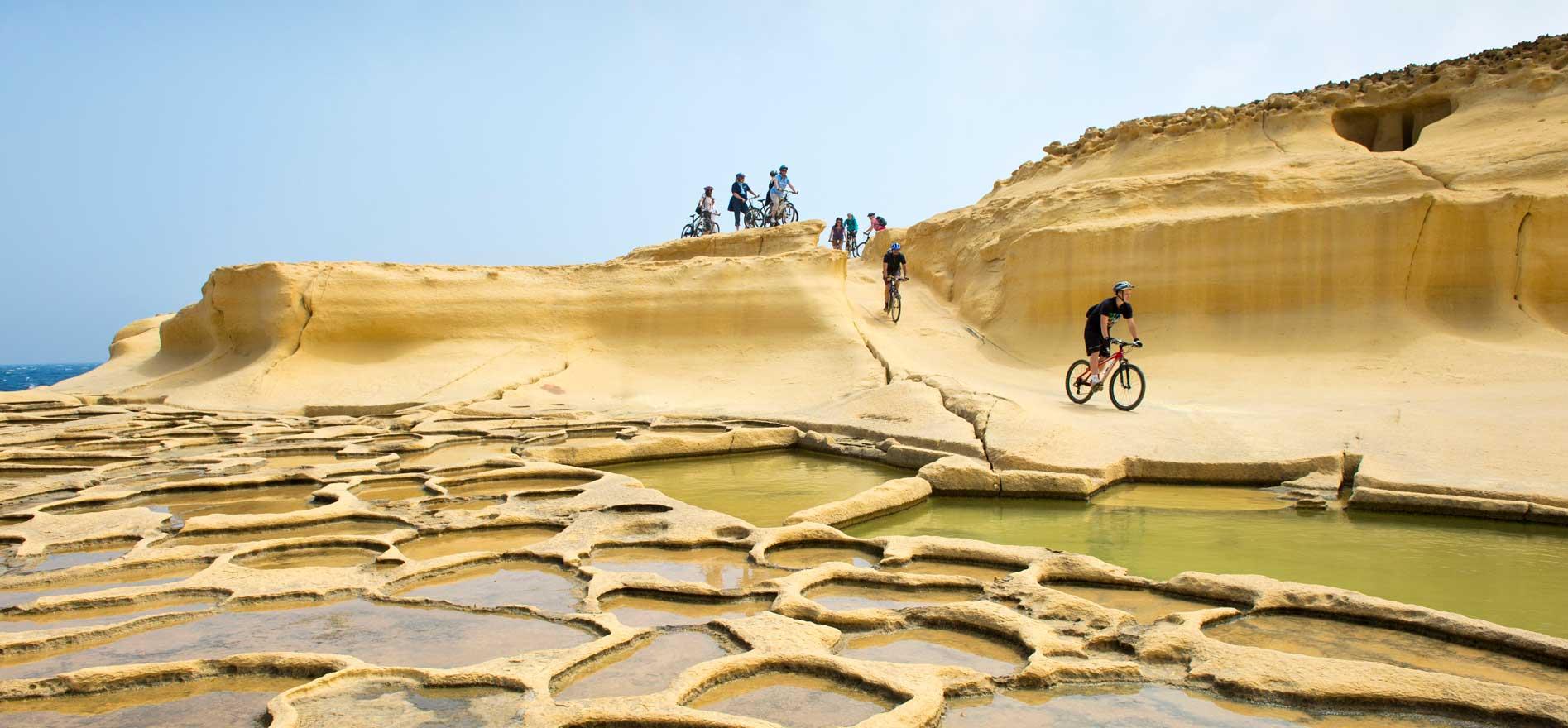 Fahrradfahren auf Malta