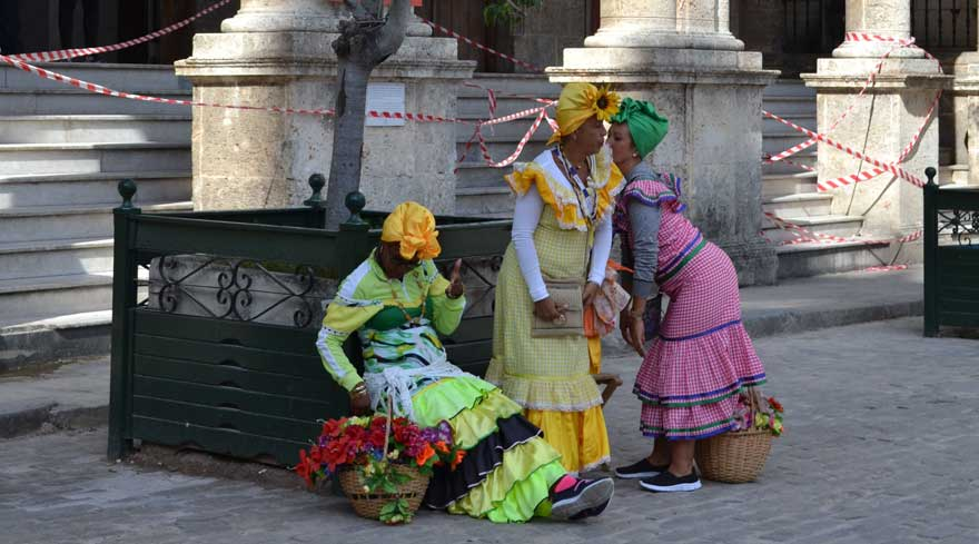 Frauen in Havanna
