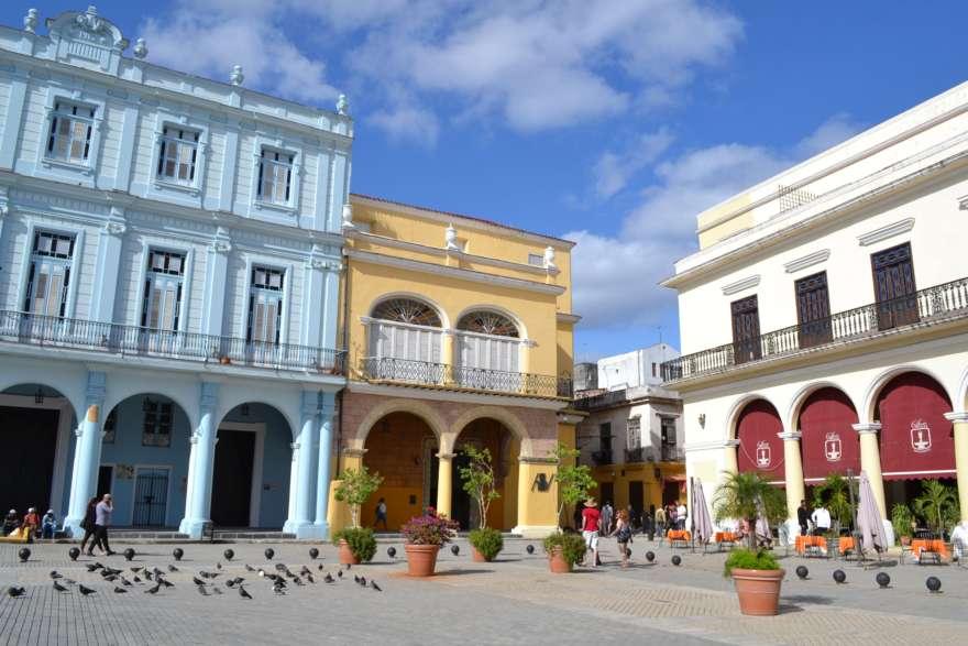 Platz in Havanna