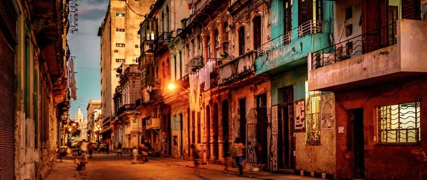 Havanna bei Nacht