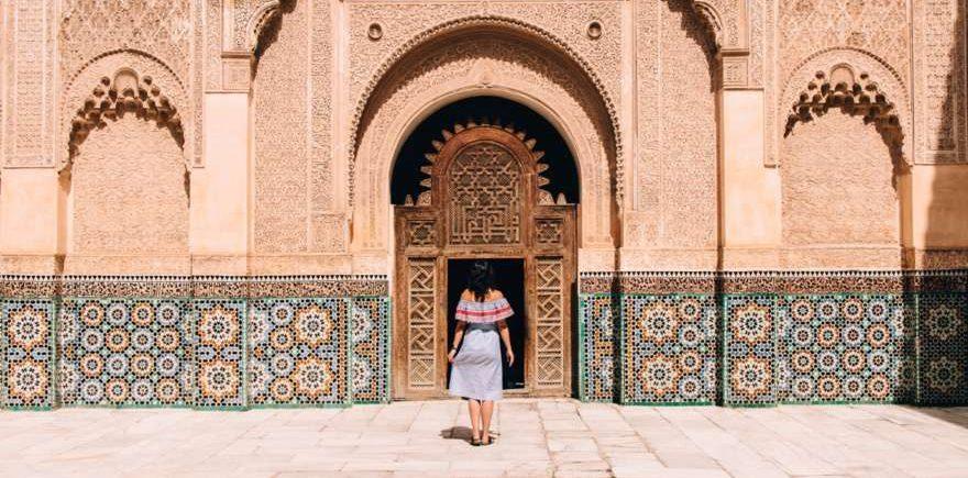 Jana in Marokko