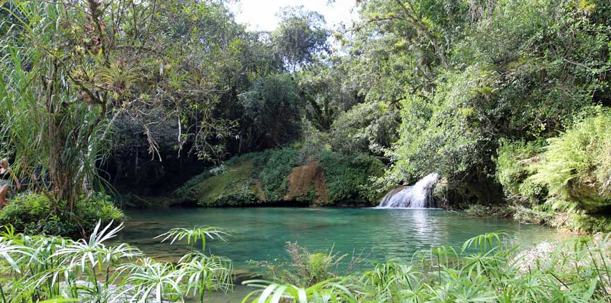 Naturschwimmbecken in Topes de Collantes