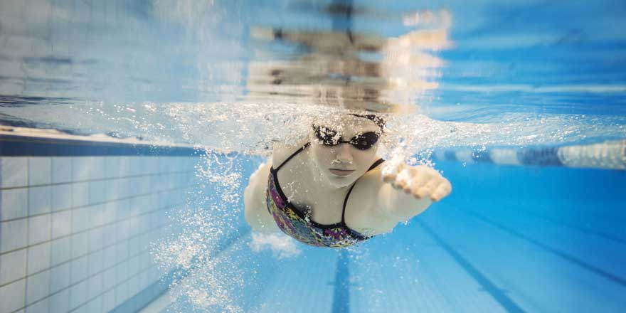 Schwimmerin