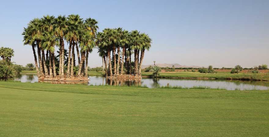Golfplatz in Marokko