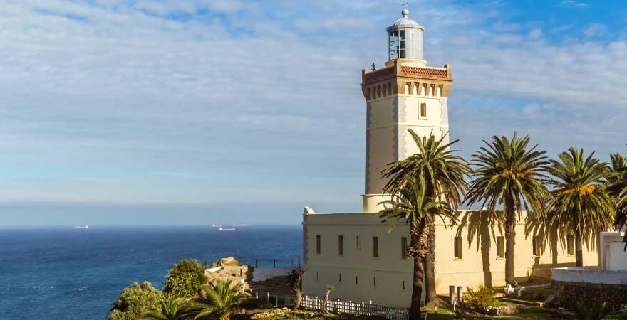 Turm nahe Tanger in Marokko