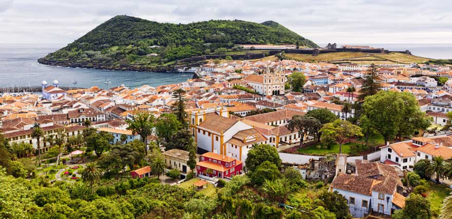 Angra-do-heroismo-auf-Terceira