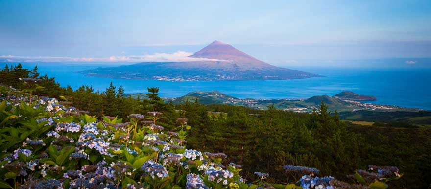Mount Pico auf den Azoren