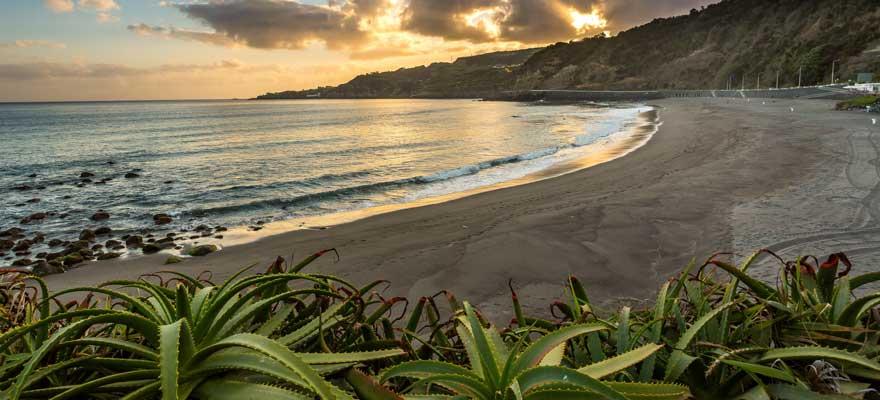Strand Sao Miguel auf den Azoren