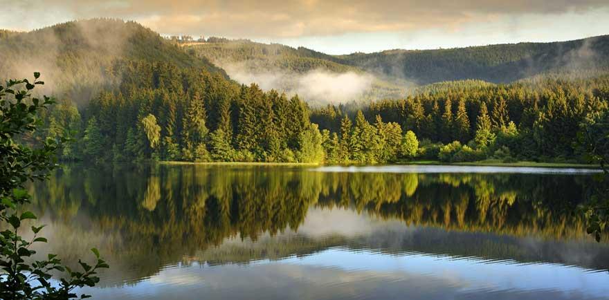 See im Harz in Deutschland