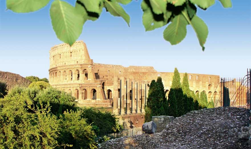 Kolosseum in Rom in Italien
