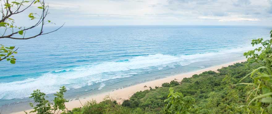 Strand Nyang Nyang Beach auf Bali in Indonesien
