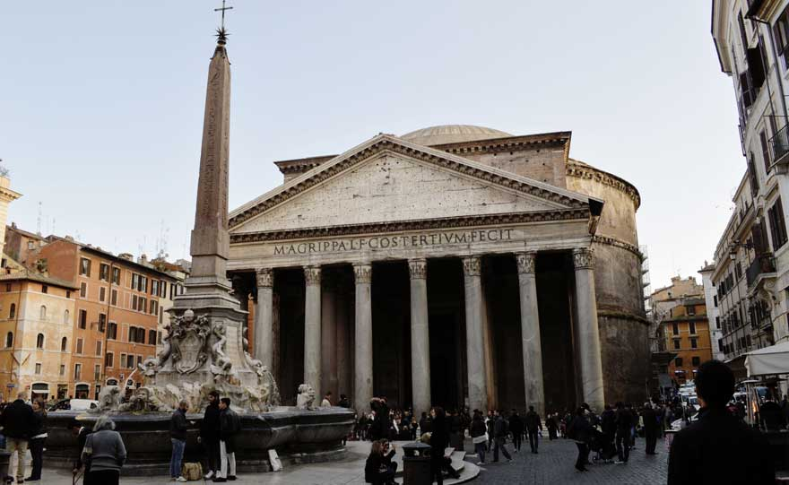 Pantheon in Rom in Italien