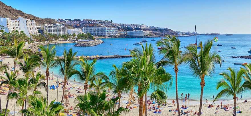 Playa-Mogan-auf-Gran-Canaria