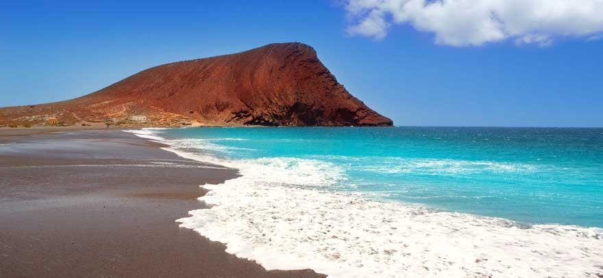 Playa-de-la-Tejita-auf-Teneriffa
