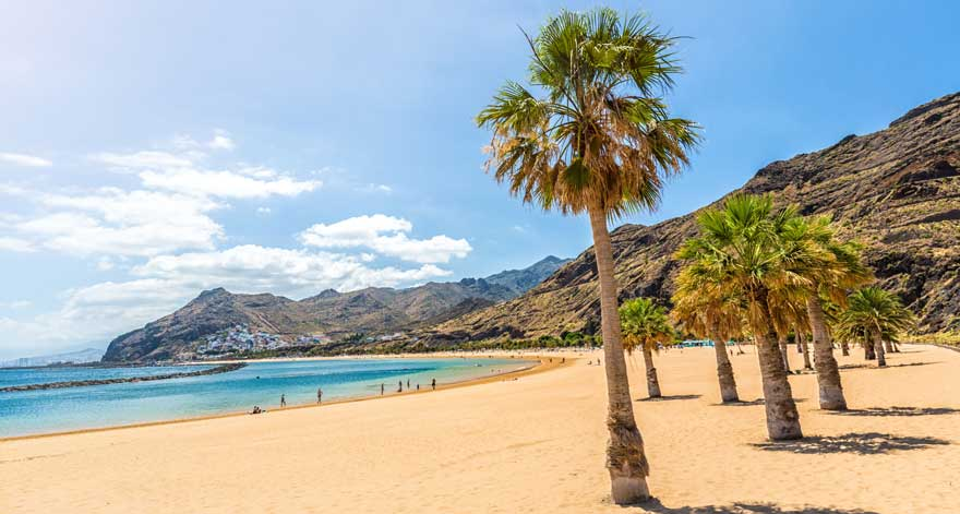Playa-de-las-Teresitas-auf-Teneriffa