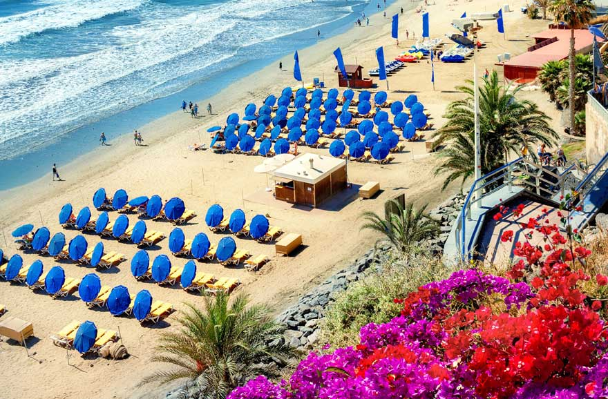 Playa-del-Ingles-auf-Gran-Canaria