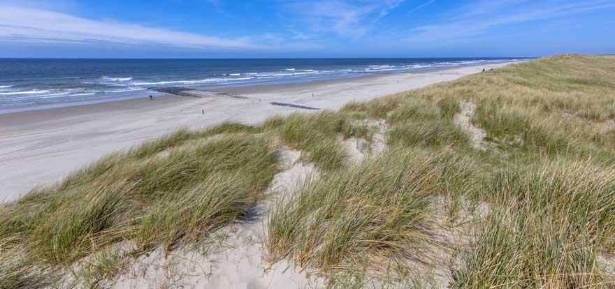 Strand-auf-Texel