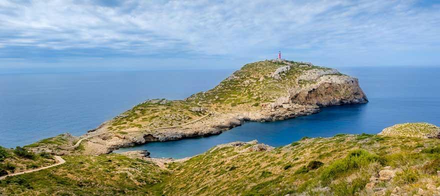 Kueste von Cabrera auf Mallorca in Spanien