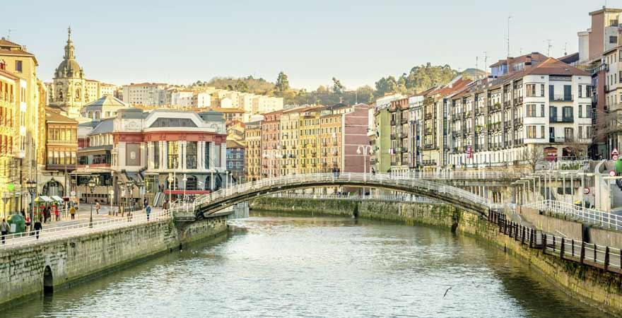 Bilbao in Spanien