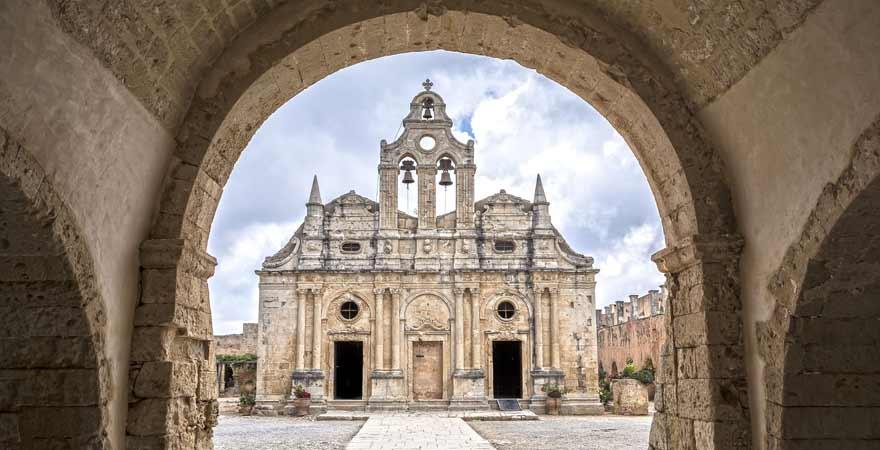 Kloster Arkadi auf Kreta in Griechenland
