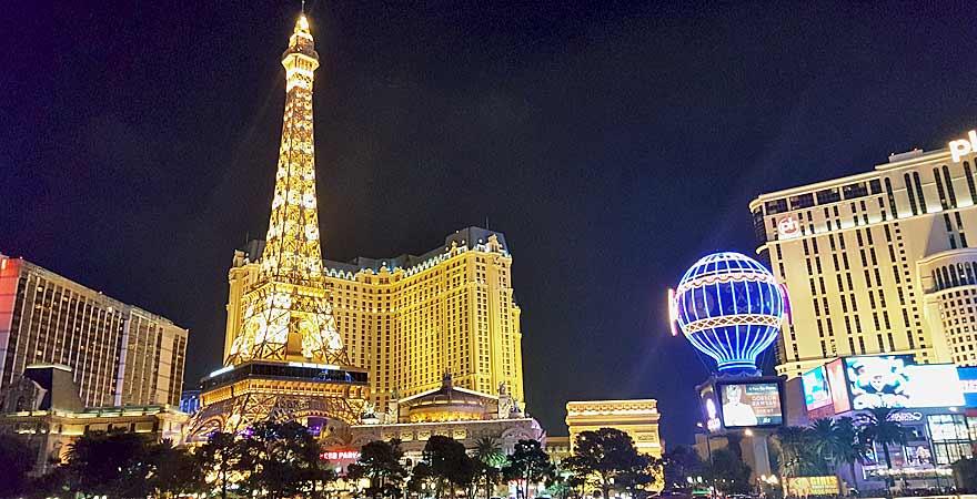 Nachts in Las Vegas