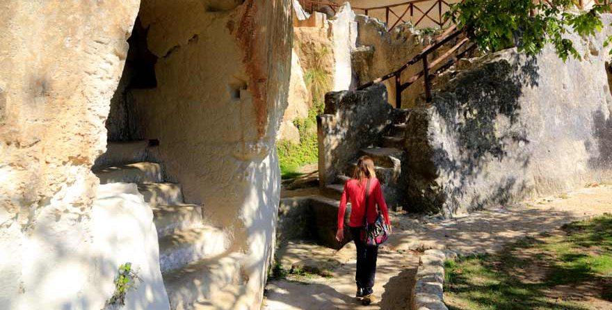 Le Grotte di Zungri in Kalabrien in Kalabrien in Italien