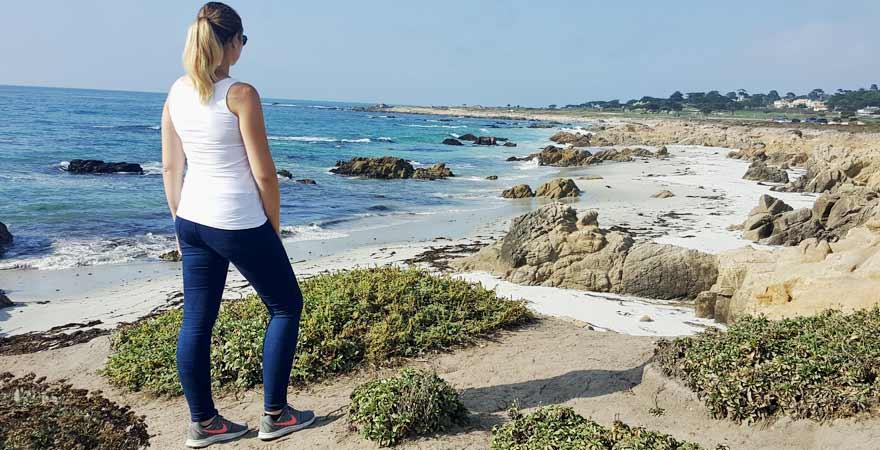 Kueste von Monterey in Kalifornien