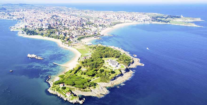Santander in Spanien