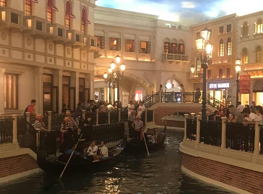 Hotel Venetian in Las Vegas