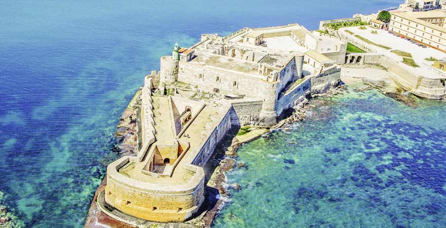 Castello Maniace in Syrakus auf Sizilien