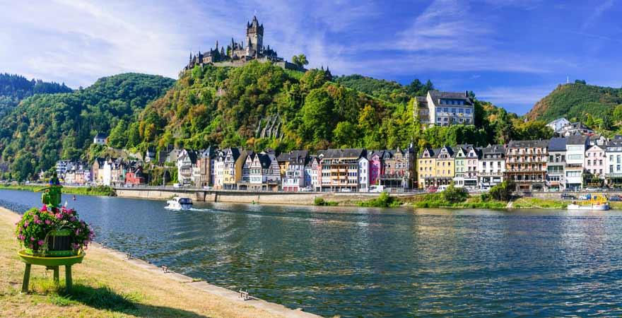 Cochem an der Mosel in Deutschland