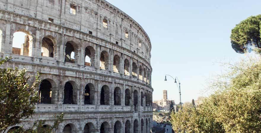 Colosseum in Rom in Italien
