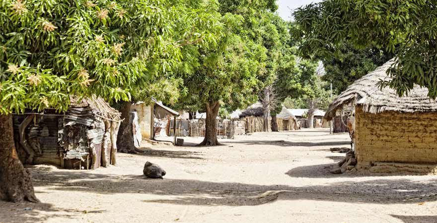 Dorf Kuna Kinteh in Gambia