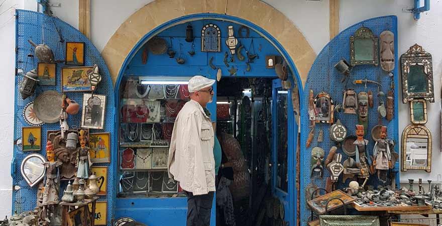 Kunsthandwerk in Mahdia in Tunesien