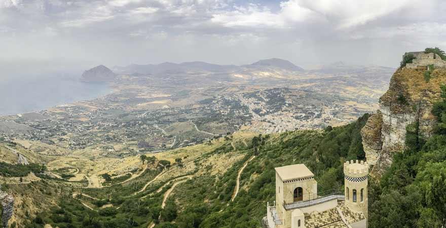 Panorama von Sizilien