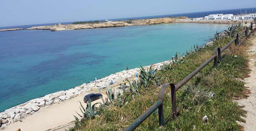 Strand bei Monastir in Tunesien