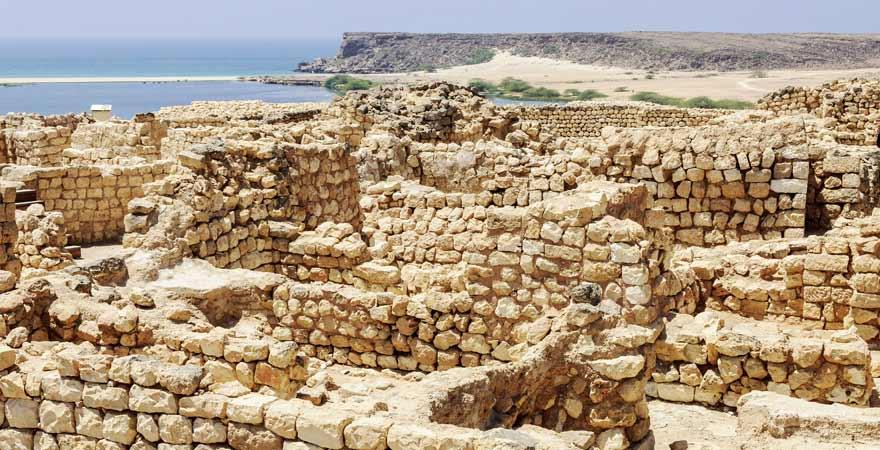 Sumhuram bei Salalah im Oman